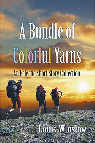 A bundle of colorful yarns